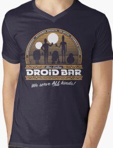 Droid Bar Mens V-Neck T-Shirt