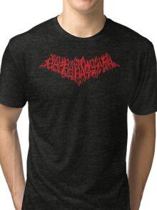 Joker's Bat Symbol Tri-blend T-Shirt