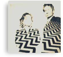 Black Lodge X-Files Canvas Print