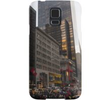 Christmas Shopping on Fifth Avenue, Manhattan, New York City Samsung Galaxy Case/Skin