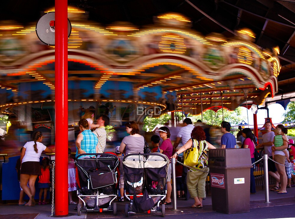 The Carousel-Hershey Park, PA by BigD