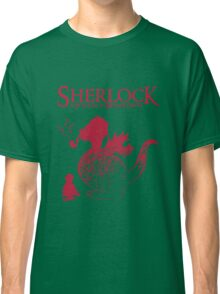 Sherlock - A scandal in Middle Earth (red) Classic T-Shirt