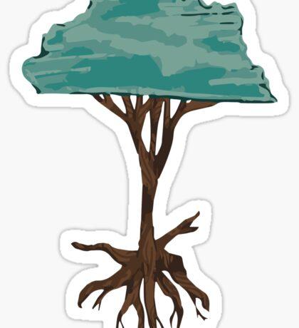 Floating Tree Sticker