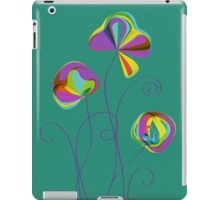 Colorful lollipop flowers  iPad Case/Skin