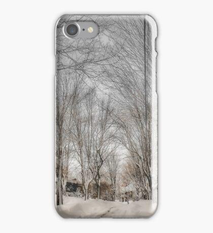 After Blizzard Nemo, Brookline, MA iPhone Case/Skin