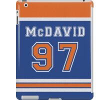 Oilers Connor McDavid #97 iPad Case/Skin