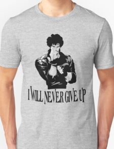Never Give up Design T-shirt T-Shirt