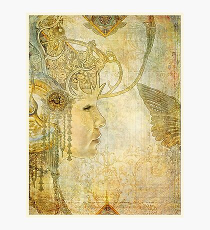 the white queen Photographic Print
