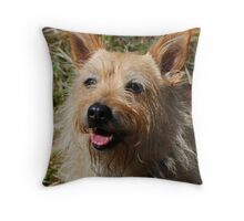 Doggie Smile Throw Pillow