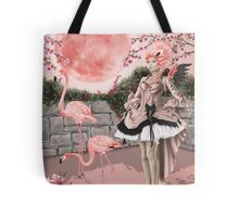 Flamingo Fairy - Pink Moon Tote Bag