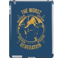 One Piece - The Worst Generation iPad Case/Skin