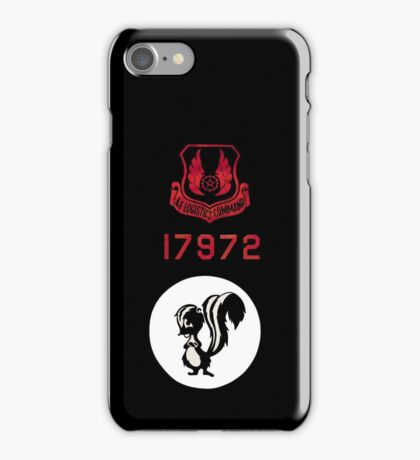 Emblem from the SR-71 Blackbird iPhone Case/Skin