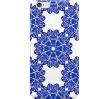 Porcelain vintage pattern. Blue. iPhone Case/Skin