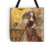 Owl Fairy Angel Masquerade Ball Tote Bag