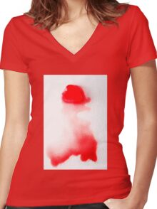 Bloody Valentine Women's Fitted V-Neck T-Shirt