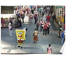Sponge Bob Square Pants Visits New York  Poster