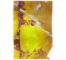 Rust & Ochre Poster