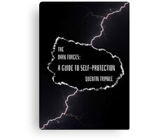 A Guide To Self-Protection Canvas Print