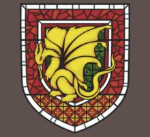 Stained Glass Pendragon Crest Baby Tee
