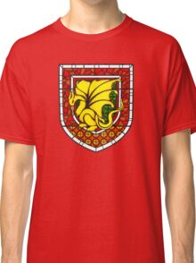 Stained Glass Pendragon Crest Classic T-Shirt