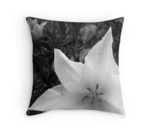 Snow Star Throw Pillow