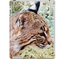 Bobcat With Stealthy Eye iPad Case/Skin
