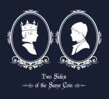 Two Sides of the Same Coin Kids Tee
