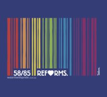 T-Shirt 58/85 (Financial) by Craig Rochfort