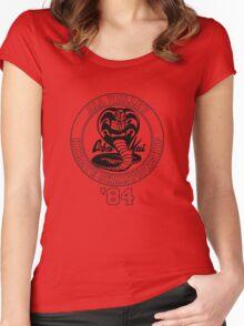 Cobra Kai All Valley Karate Tournament Women's Fitted Scoop T-Shirt