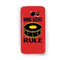 BAND GEEKS RULE Samsung Galaxy Case/Skin