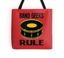 BAND GEEKS RULE Tote Bag