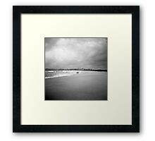 summer keeps fading Framed Print