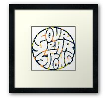 Four Year Strong Floral 1 Framed Print