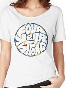 Four Year Strong Floral 1 Women's Relaxed Fit T-Shirt