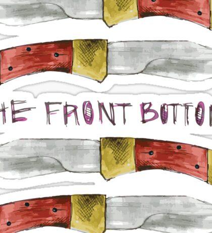 Talon of the Hawk - The Front Bottoms  Sticker