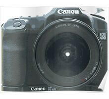 Canon 40D Poster
