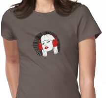Headphone Heaven Womens Fitted T-Shirt