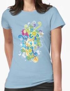 Bang of colors and flowers T-Shirt