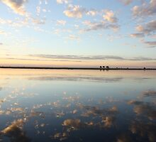 Chobe River - Late reflection by Graham Deeprose
