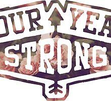 Four Year Strong logo 2 by Luke Martin