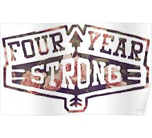 Four Year Strong logo 2 Poster