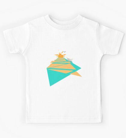 Paper Boat Kids Tee