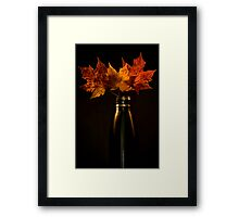 Autumn nostalgia  Framed Print