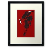 Ninjas do it better. Framed Print