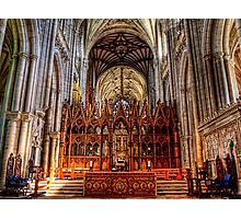 Winchester Cathedral - The Altar Photographic Print