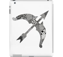 Zentangle Bow iPad Case/Skin