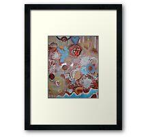 Hot Rocks And The Dancing Bear Framed Print