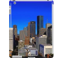 Downtown Houston Painted iPad Case/Skin