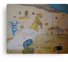 The Old Farm Canvas Print