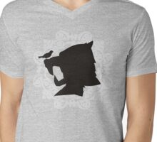 The Hound's Helm Mens V-Neck T-Shirt